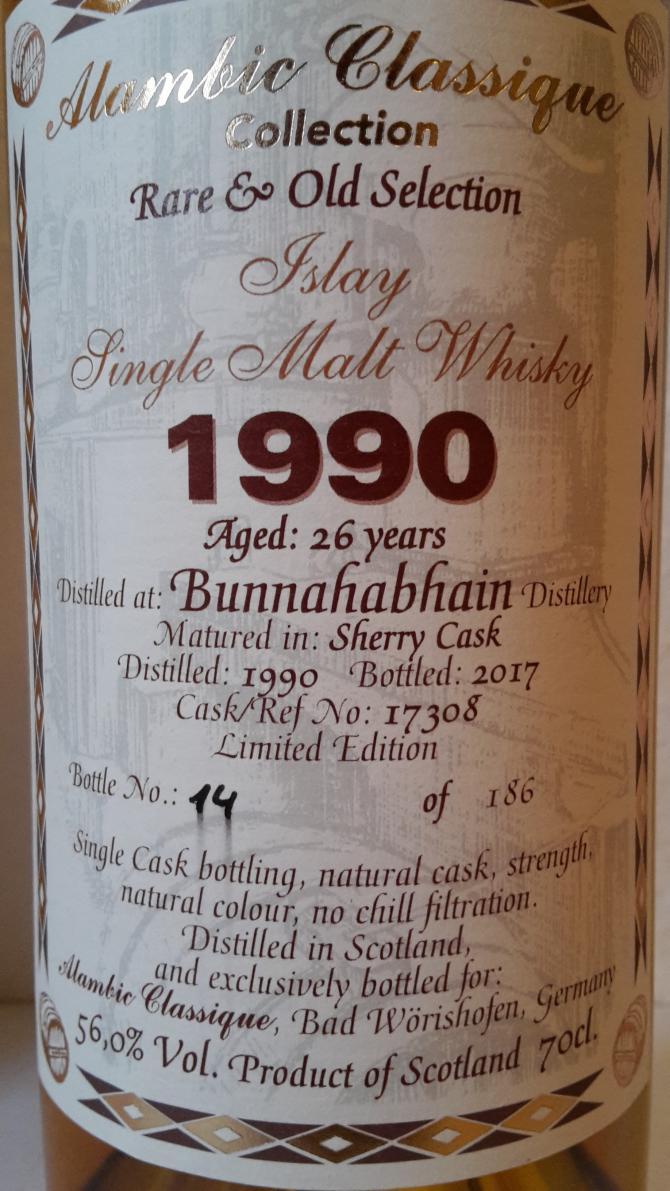 Bunnahabhain 1990 AC