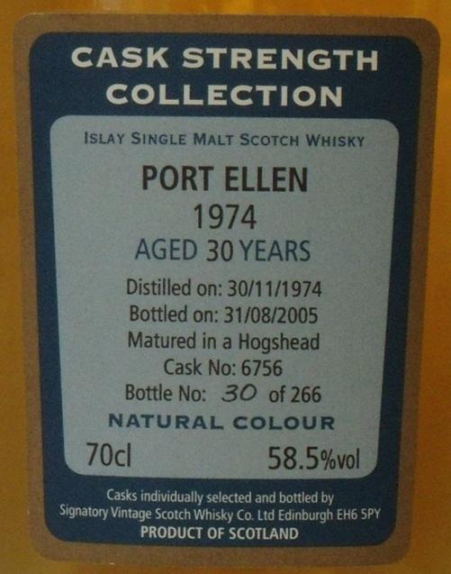 Port Ellen 1974 SV