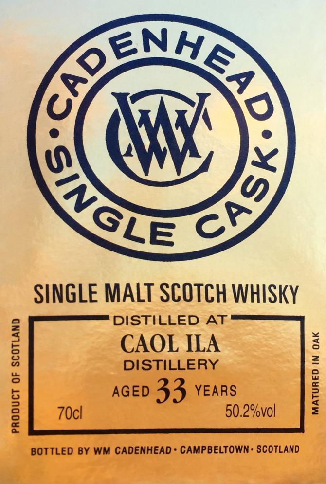 Caol Ila 1983 CA