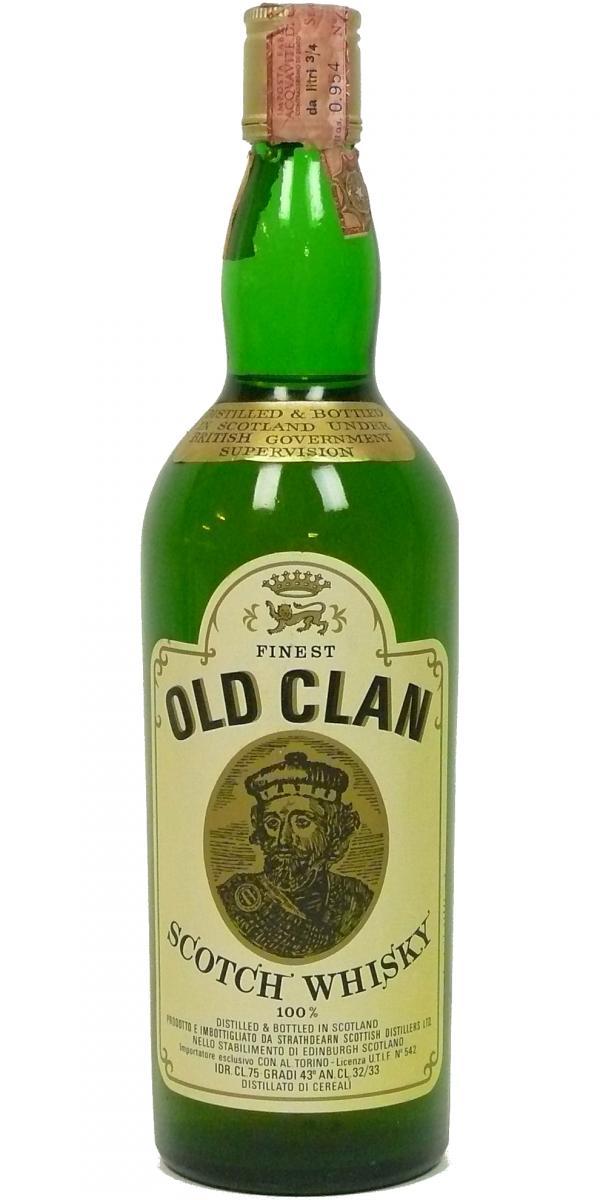 Old Clan Scotch Whisky 100%
