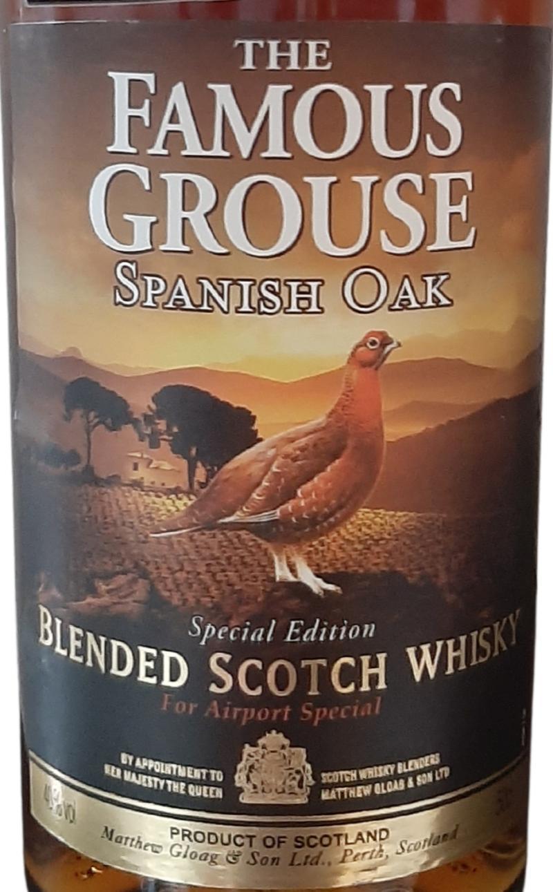 The Famous Grouse Spanish Oak