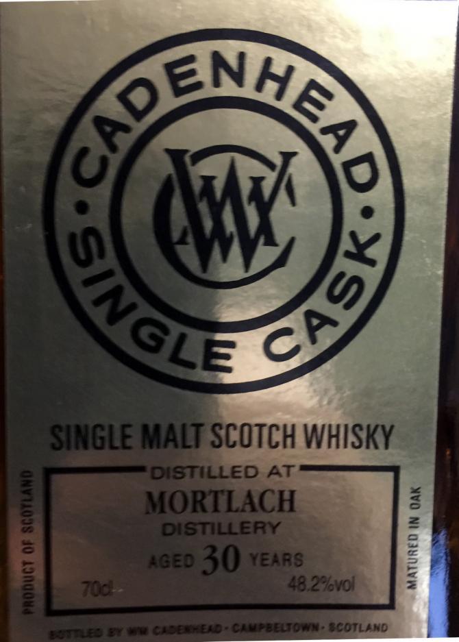 Mortlach 1987 CA