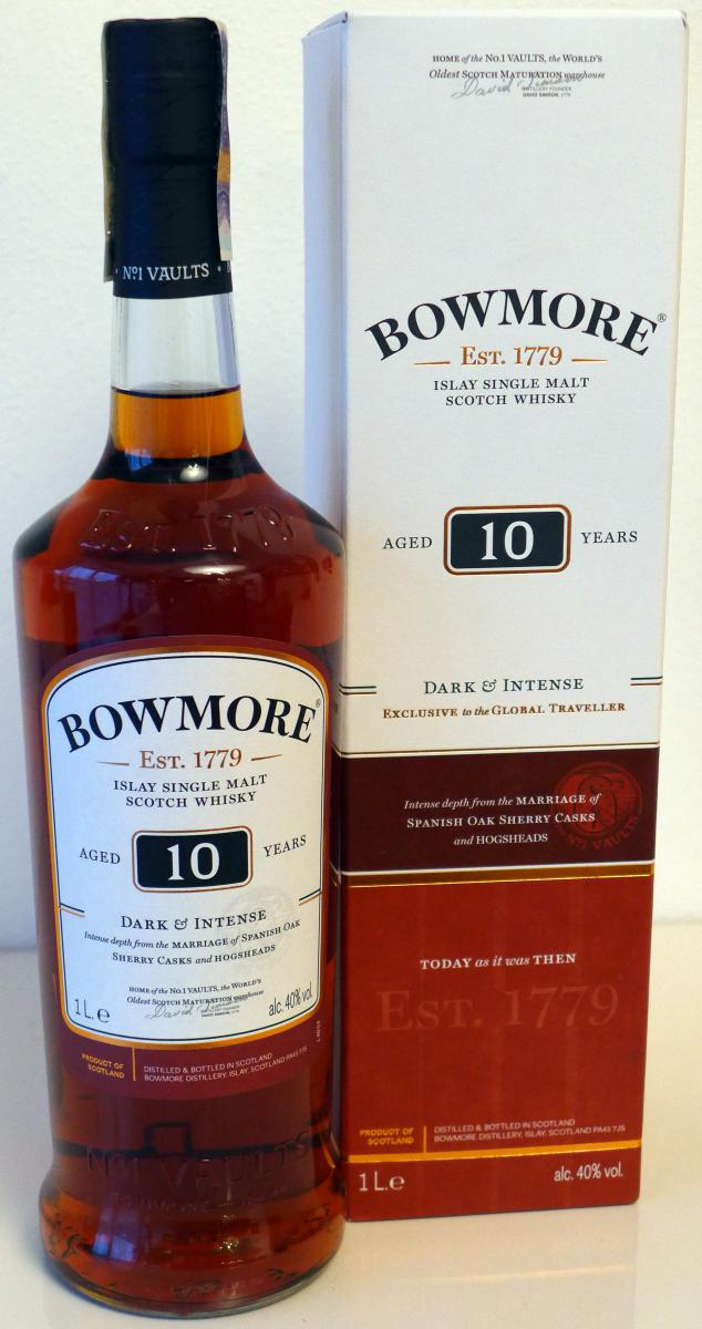 Bowmore 10-year-old