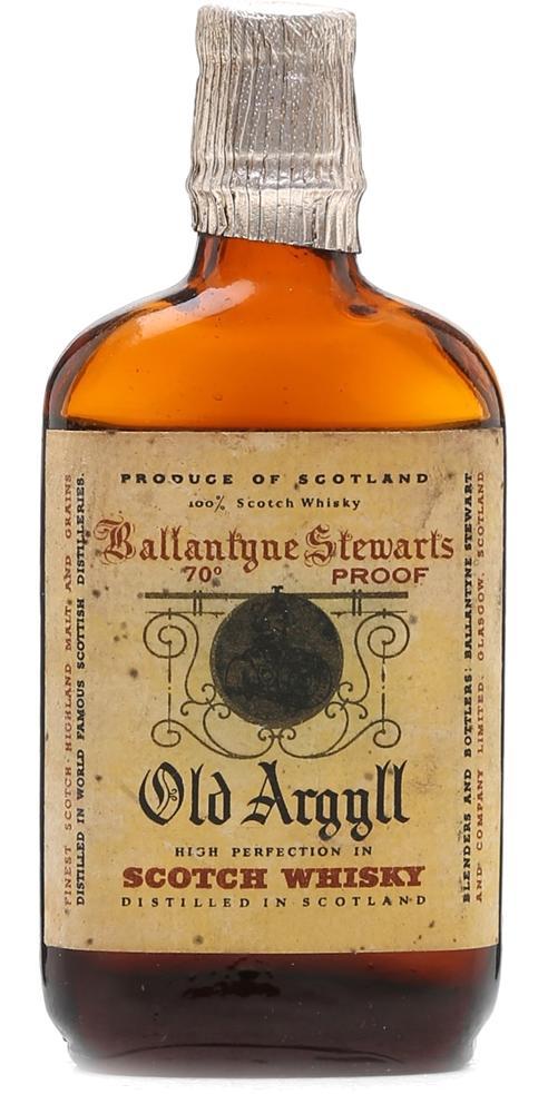 Old Argyll Scotch Whisky