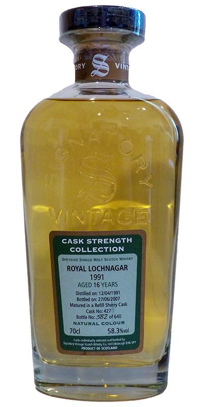 Royal Lochnagar 1991 SV