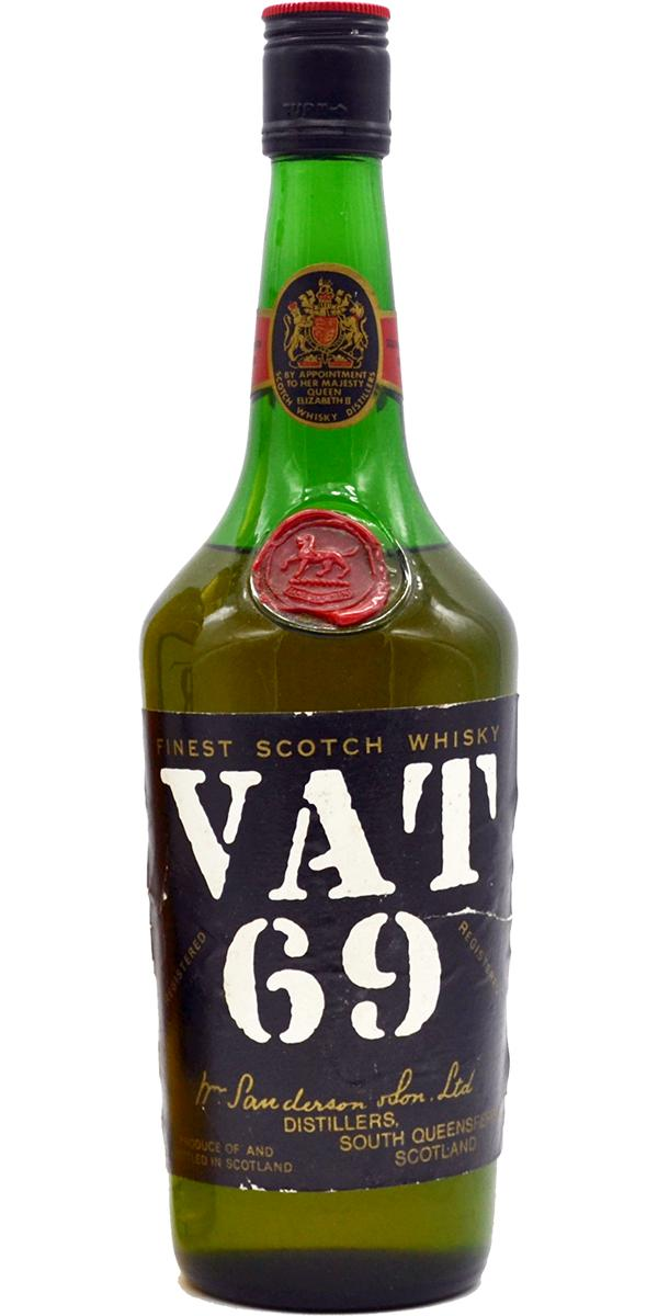 how to drink vat 69