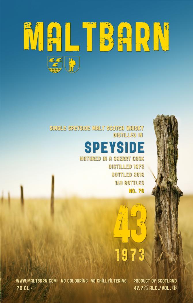 Speyside 1973 MBa