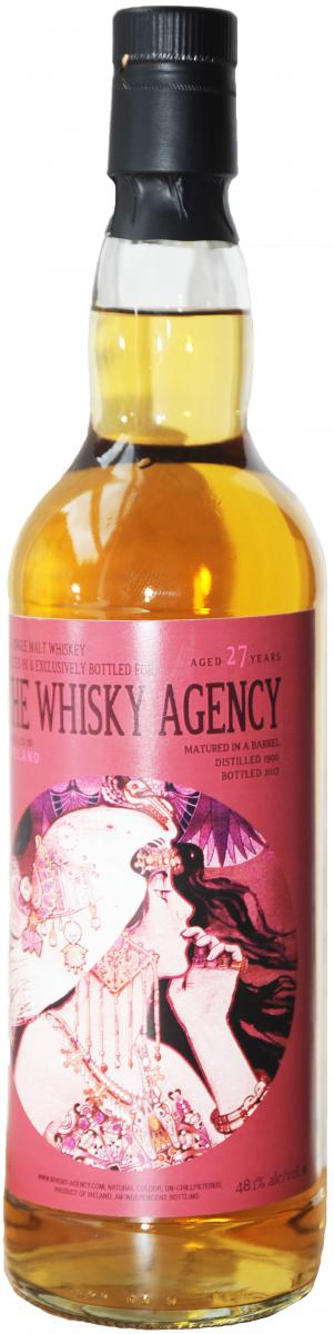 Irish Single Malt Whiskey 1990 TWA
