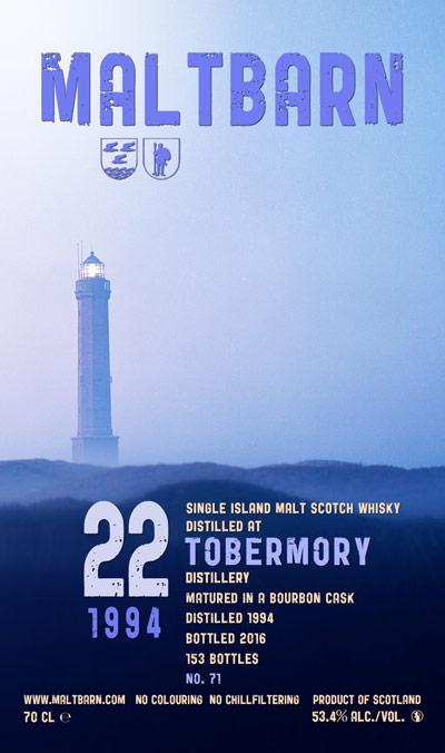 Tobermory 1994 MBa