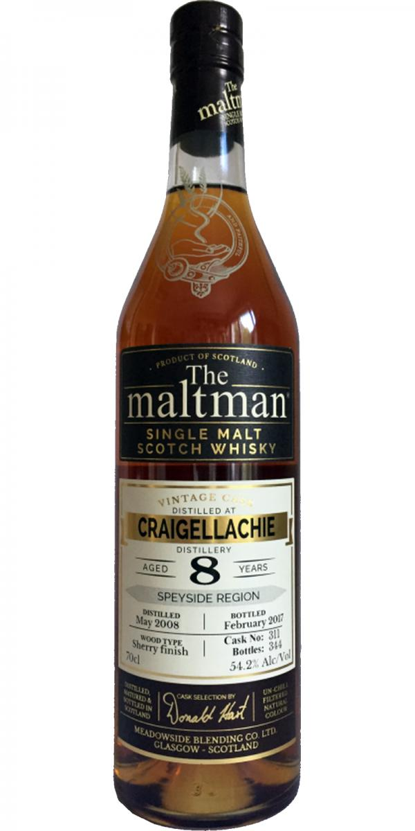 Craigellachie 2008 MBl