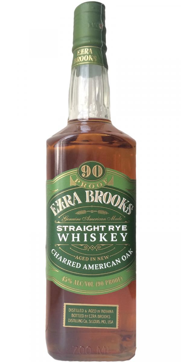 Ezra Brooks Straight Rye Whiskey