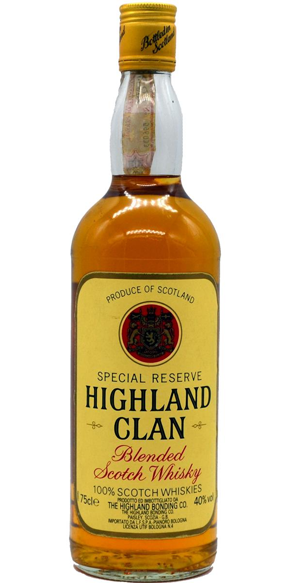 Highland Clan Blended Scotch Whisky