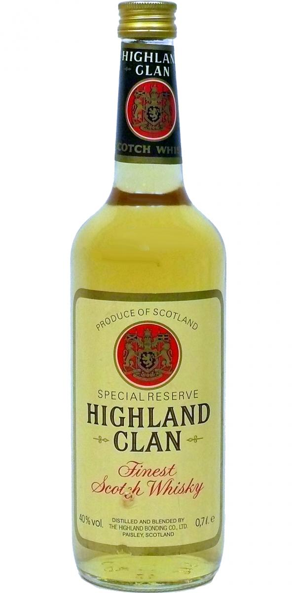 Highland Clan Finest Scotch Whisky