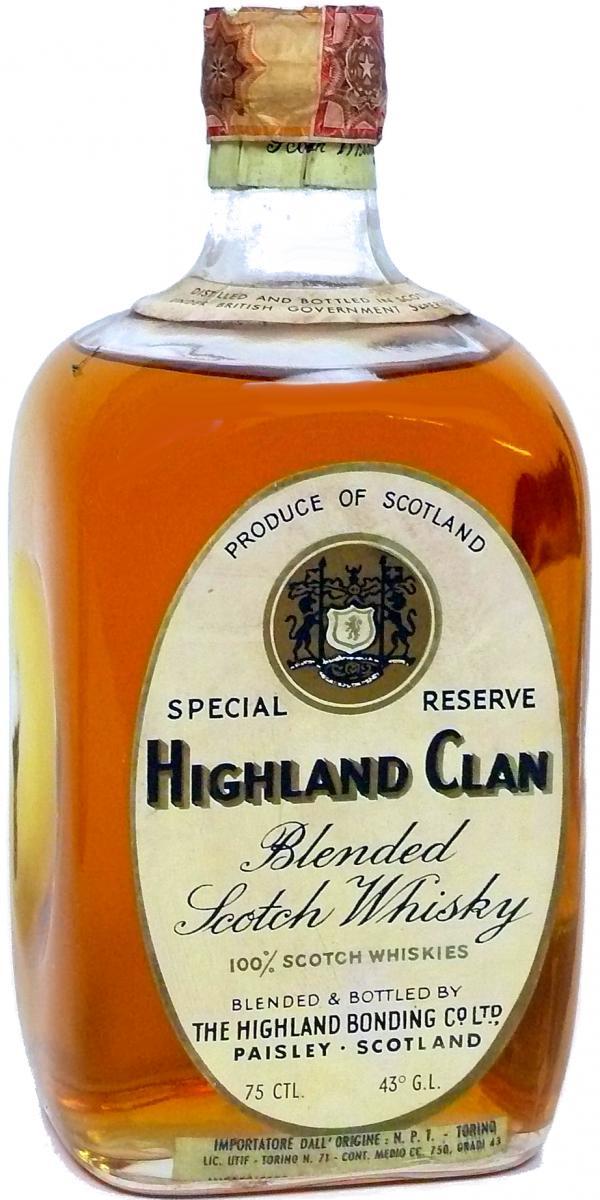Highland Clan Blended Scotch Whisky