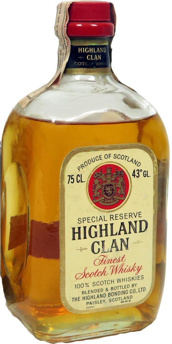 Highland Clan Finest Scotch Whisky