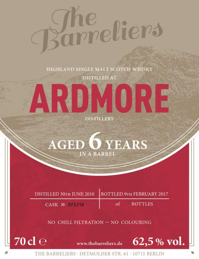 Ardmore 2010 TBa