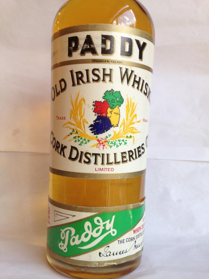 Paddy Old Irish Whisky - Green Band
