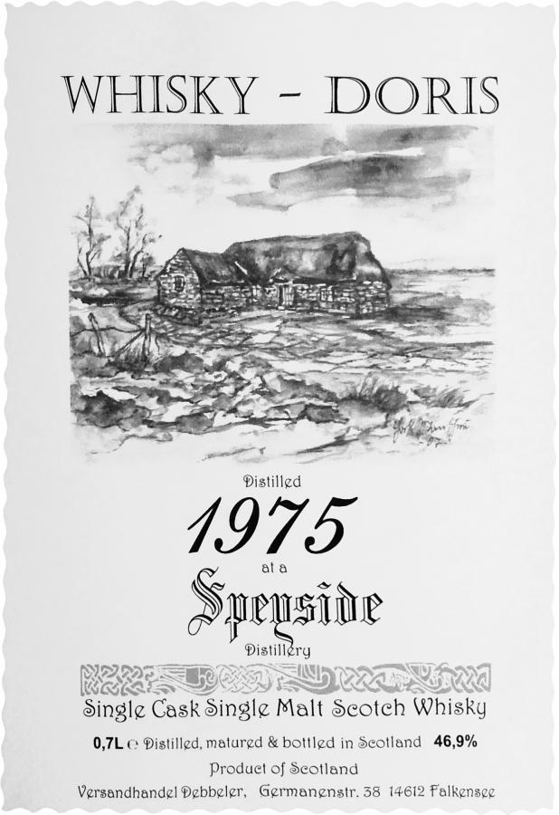 A Speyside Distillery 1975 WD