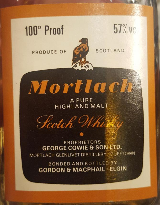 Mortlach 100° Proof