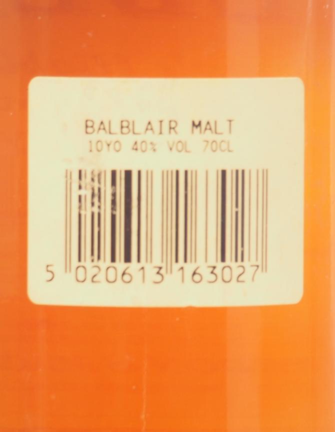 Balblair 10-year-old GM