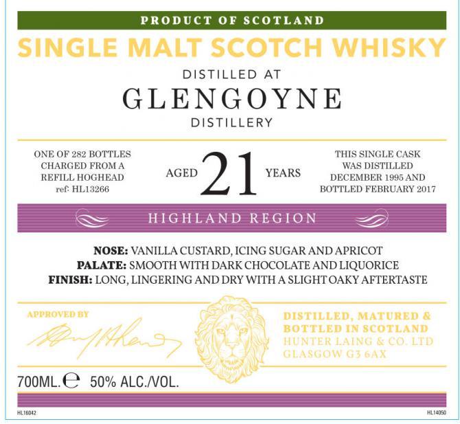 Glengoyne 1995 HL