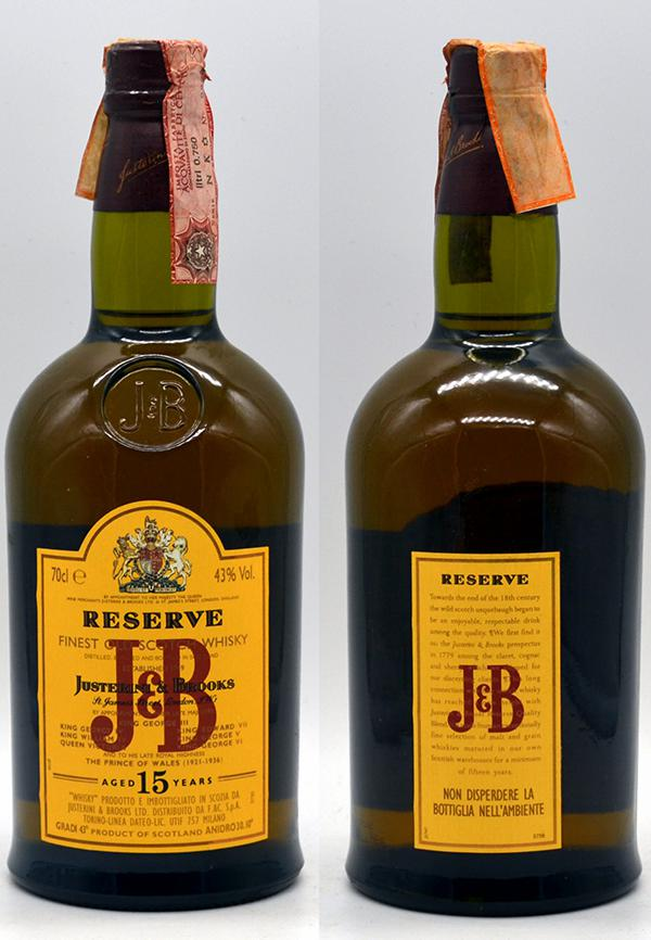 J&B 15-year-old