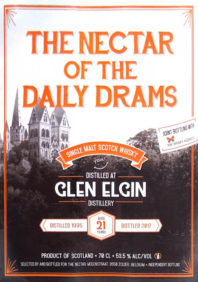 Glen Elgin 1995 DD