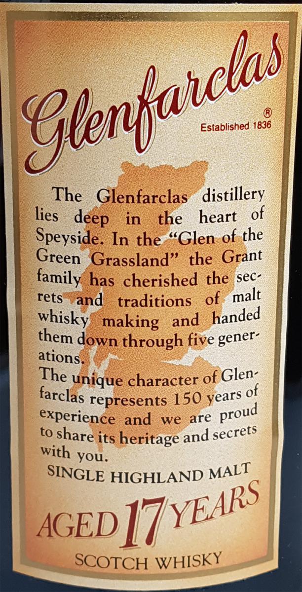 Glenfarclas 17-year-old