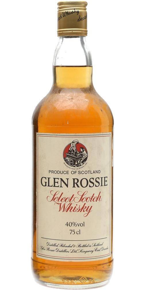 Glen Rossie Select Scotch Whisky