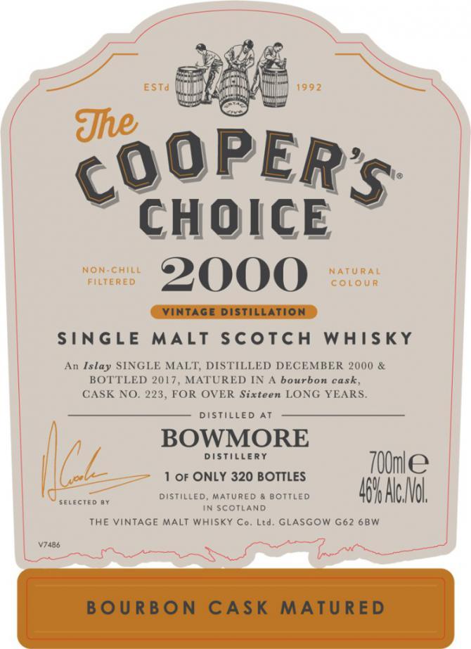 Bowmore 2000 CC