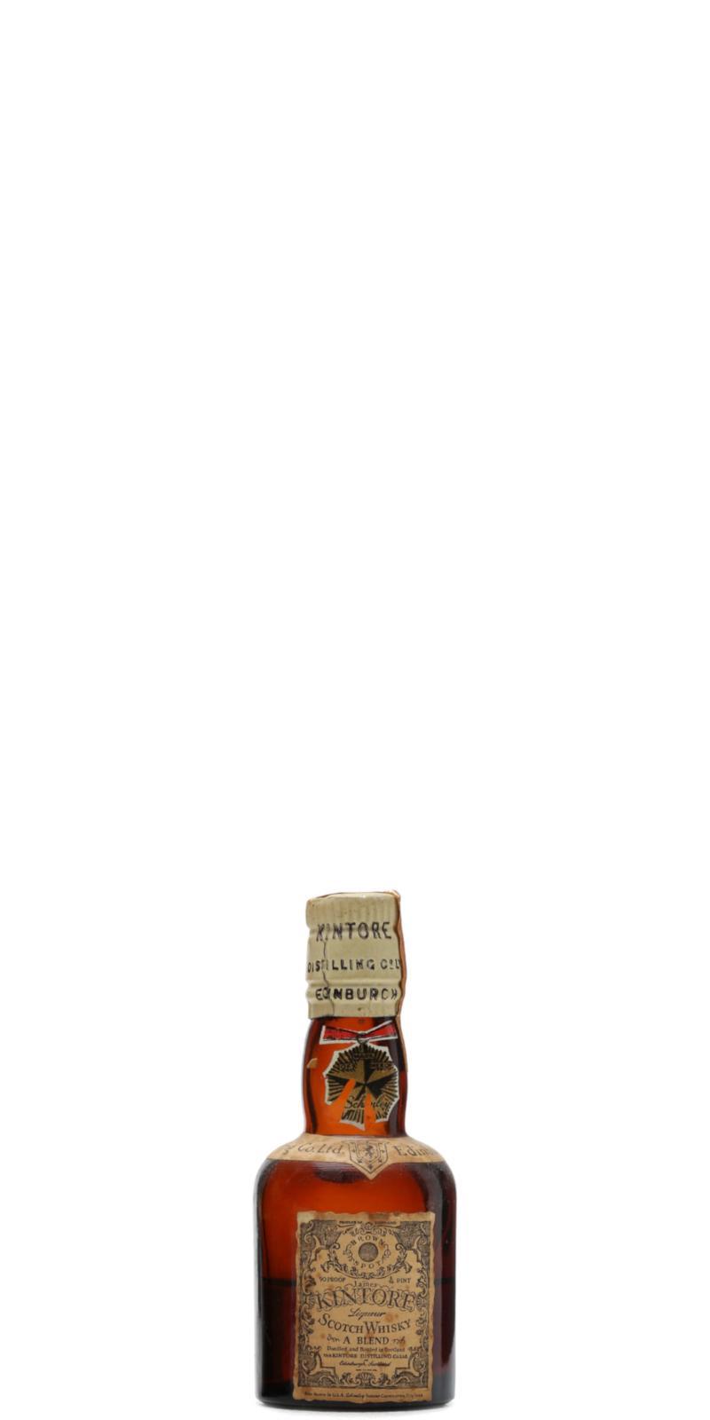 Kintore  Liqueur Scotch Whisky