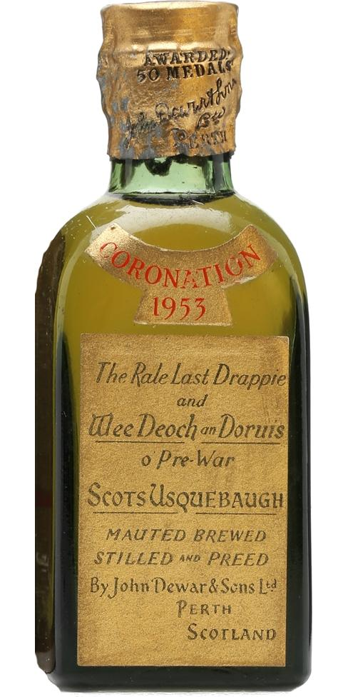 Dewar's Coronation 1953