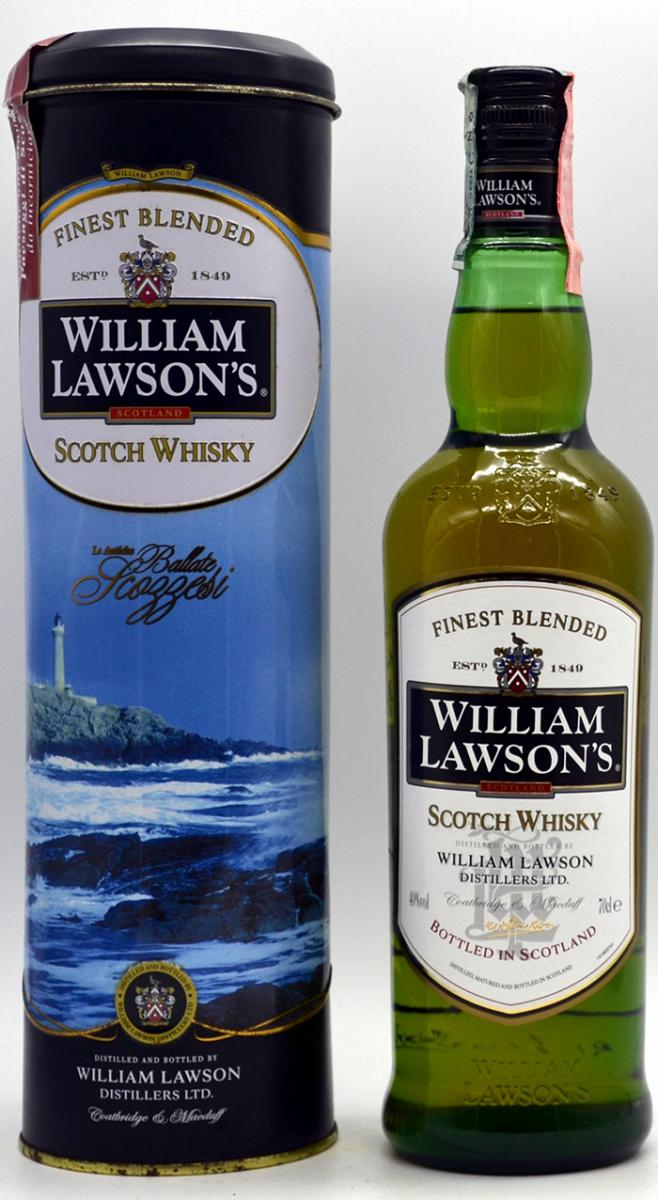 William Lawson's Finest Blended Scotch Whisky