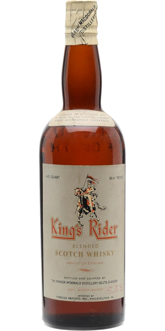King's Rider Blended Scotch Whisky