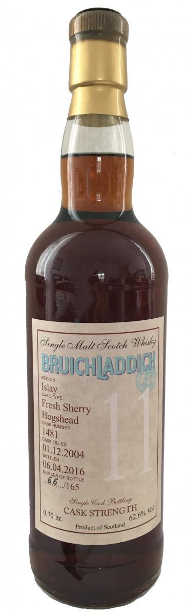 Bruichladdich 2004