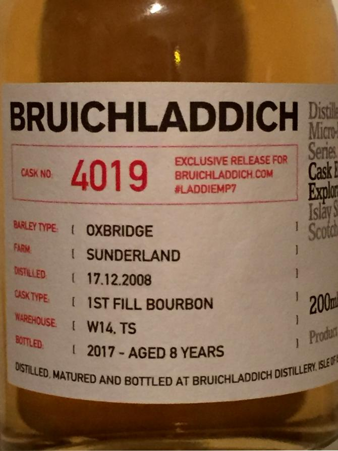 Bruichladdich #LADDIEMP7 - 2008