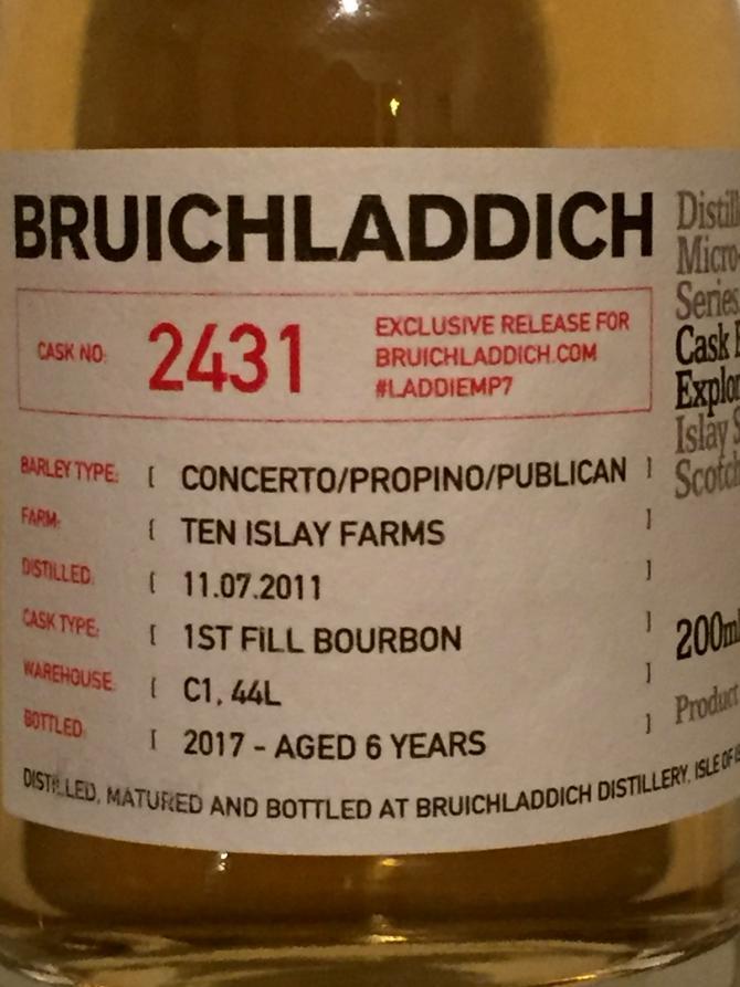 Bruichladdich #LADDIEMP7 - 2011