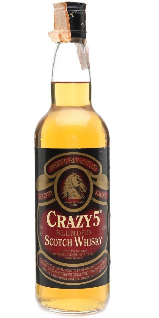 Crazy 5 Blended Scotch Whisky