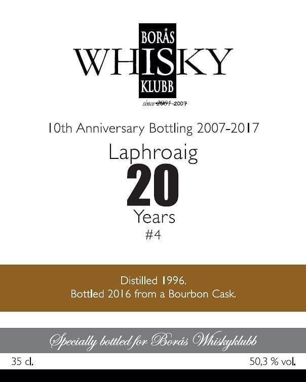 Laphroaig 1996 BWk