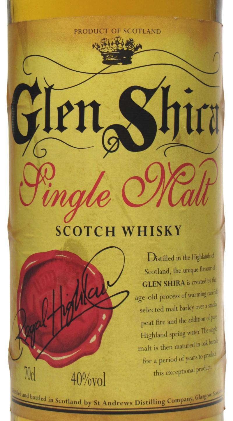 Glen Shira Single Malt Scotch Whisky