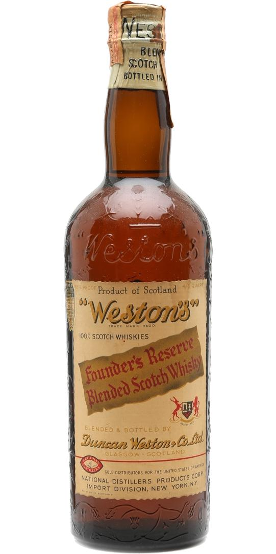 Weston's Founder's Reserve