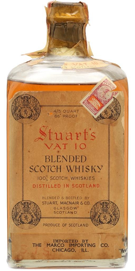 Stuart's VAT 10