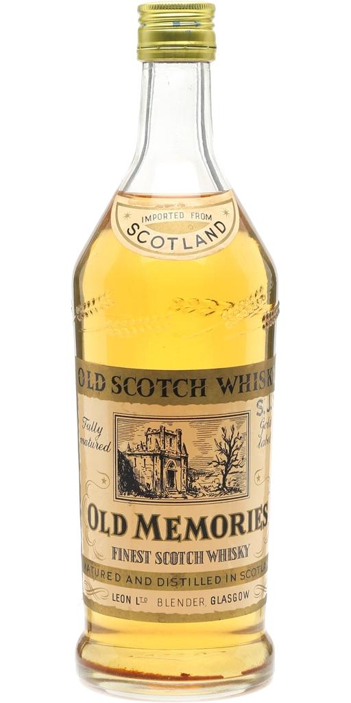 Old Memories Finest Scotch Whisky
