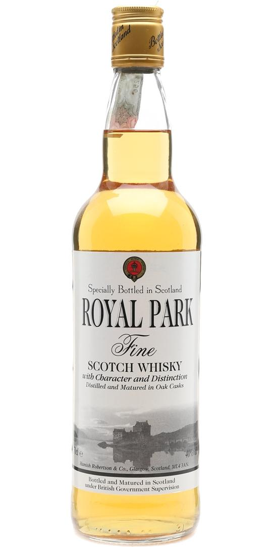 Royal Park Fine Scotch Whisky