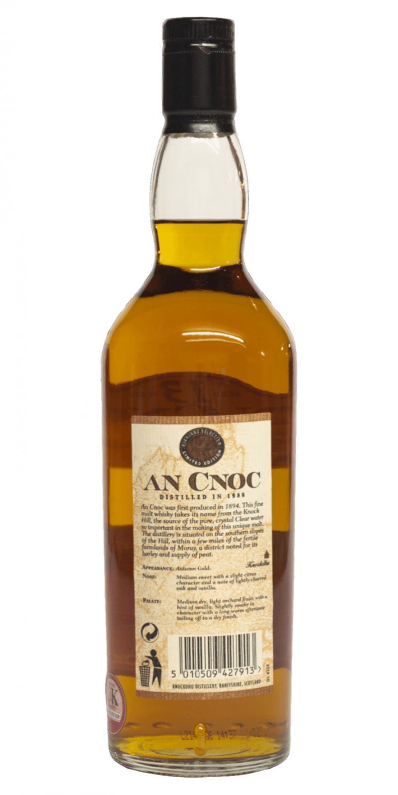 An Cnoc 1989