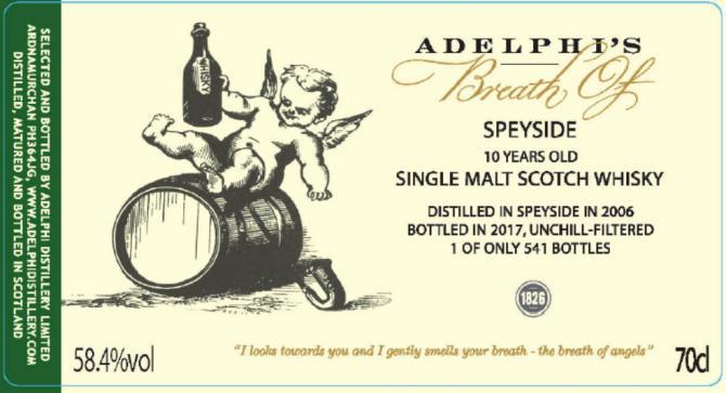 Breath of Speyside 2006 AD