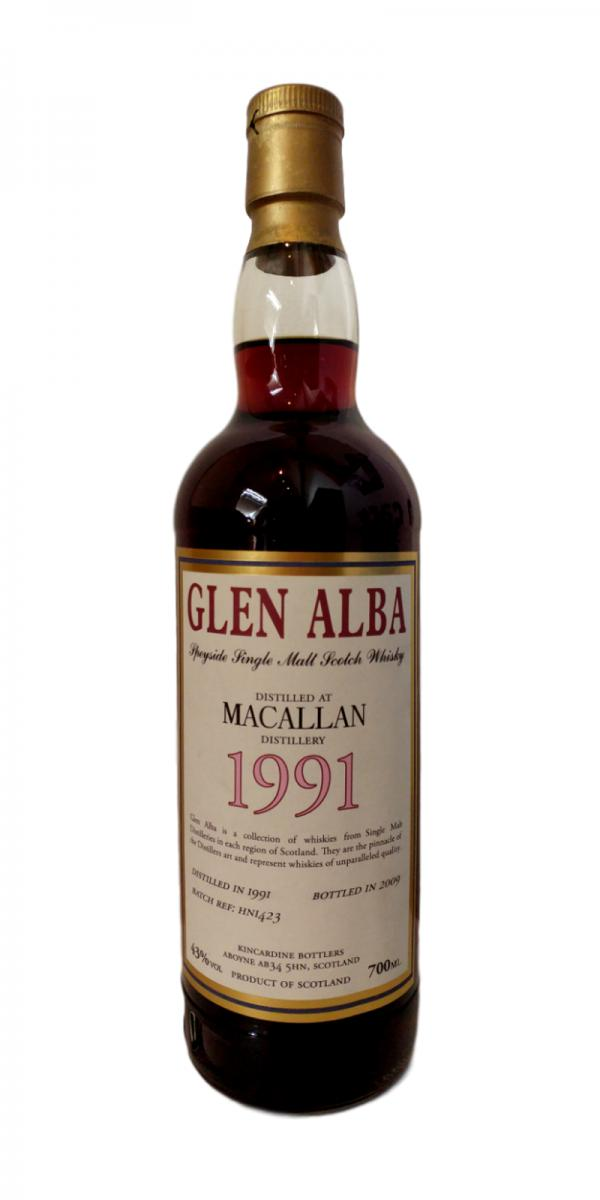 Macallan 1991 Kin