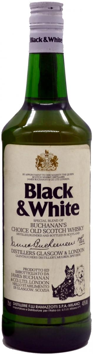 Black & White A Special Blend of Buchanan's Choice Old Scotch Whisky