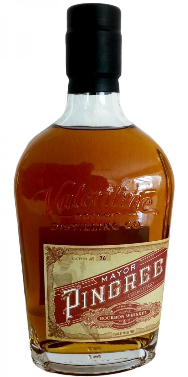 Mayor Pingree Bourbon Whiskey