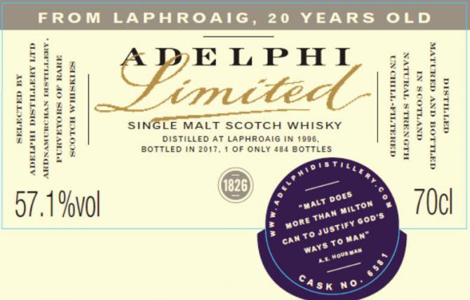 Laphroaig 1996 AD